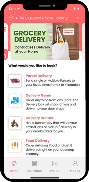 Develop all delivery app that delivers everything in just one click