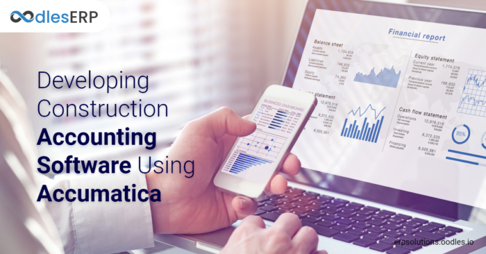 Developing Construction Accounting Software Using Accumatica