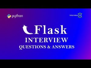 Flask Interview Questions and Answers | Python Flask | Flask Basics | Flask FAQ | – YouTube