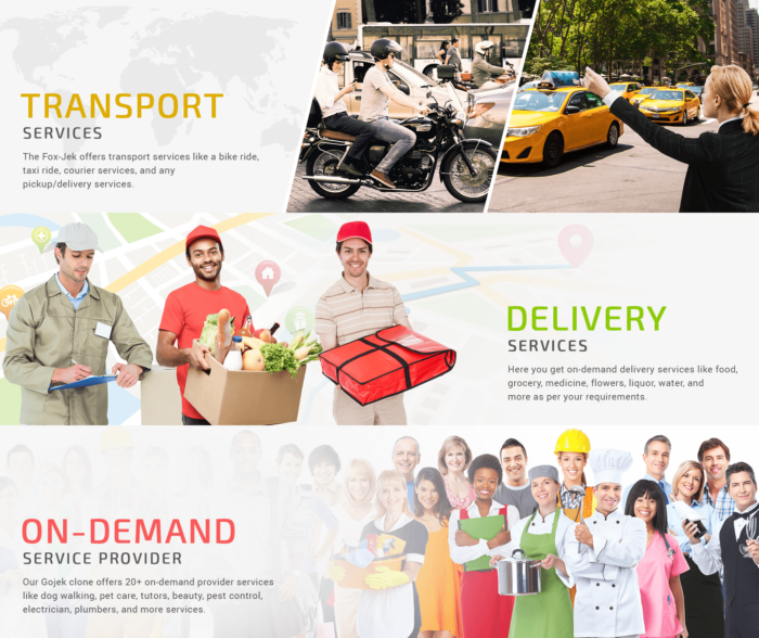 Get the Best Gojek Clone App Script Solution for your multiple services business. We offer the b ...