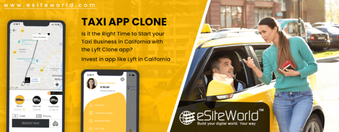Is it the Right Time to Start your Taxi Business in California with the Lyft Clone app?
