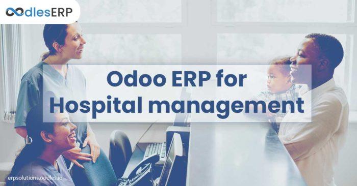 Odoo ERP development for Hospital Management