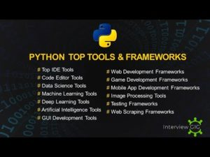 Top Tools for Python | Python Frameworks | Complete Python Tools for Beginners | – YouTube