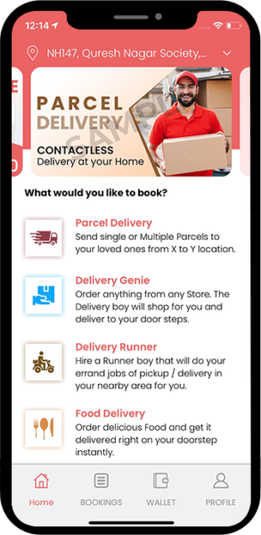 V3Cube Unveils its 'all powerful All in One Delivery App': The Delivery King!