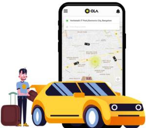 What makes Ola app so popular in the market and what it means for budding entrepreneurs