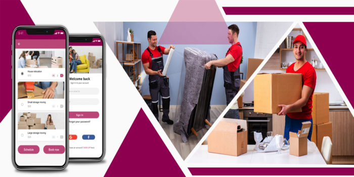Relocating has become easier with using an app for moving services.