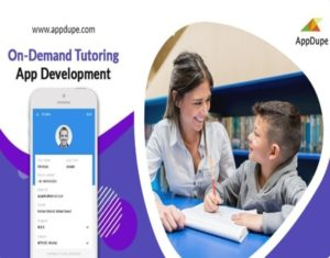 Captivate wider users by Developing a Robust app for Tutoring Services