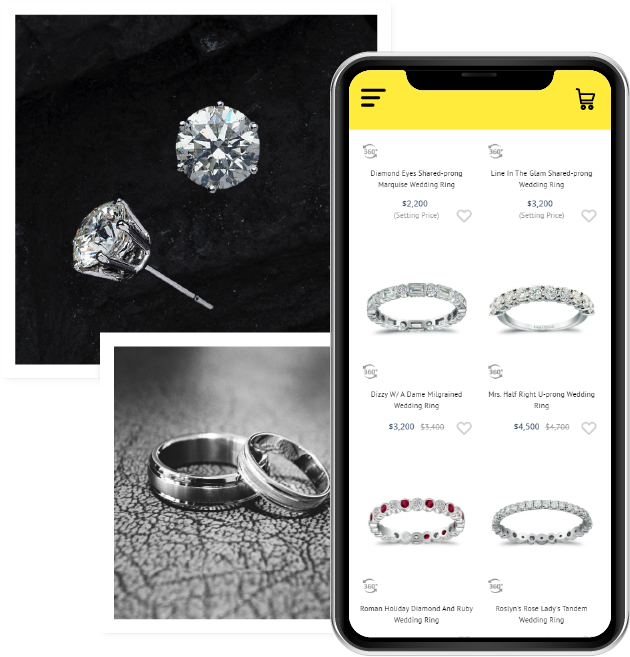 How to create a Jewellery Website and Mobile app?