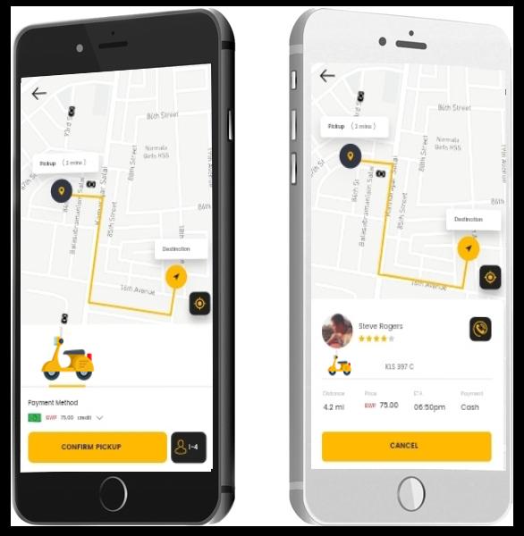 Bike Taxi App Development Solution