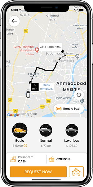 Careem Clone: White-label Taxi Booking App