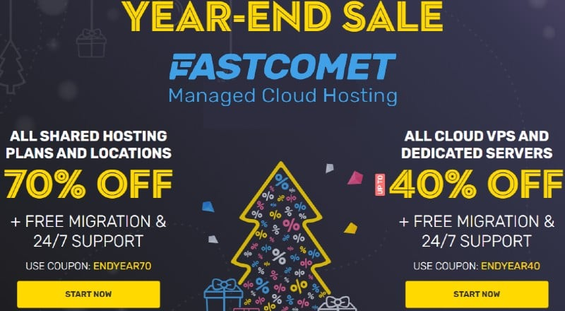 FastComet END OF YEAR SALE 2020 and New Year Offer 2021:  With the hopes of 2021 bringing bright ...