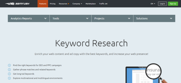 Get the list of the best SEO tools for your keyword research and content optimization for your w ...