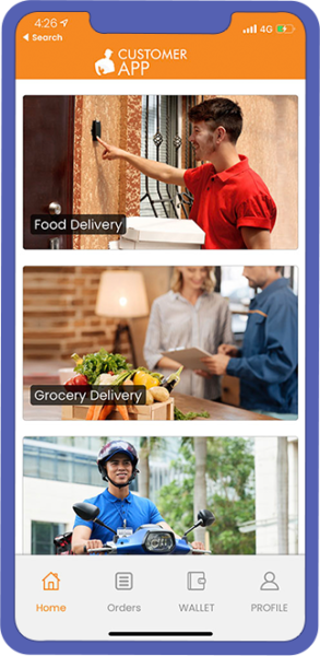 Postmates Clone: All in one delivery App