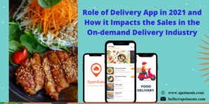 Role of Delivery App in 2021 and How it Impacts the Sales in the On-demand Delivery Industry