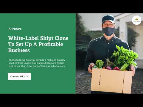 Shipt Clone – White Label Solution To Launch Your Grocery App In USA – YouTube