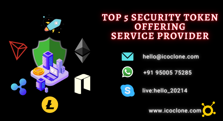 Top Security Token Offering Services 2021
