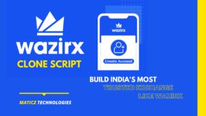Get Cryptocurrency Exchange platform like wazirx using wazirx clone script