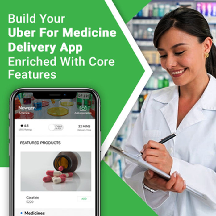 What are the sturdy features of white-label Uber for pharmacy delivery apps?