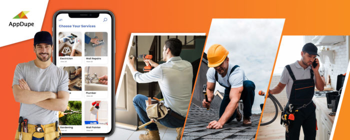 Build an efficient multi-service app like Handyman
