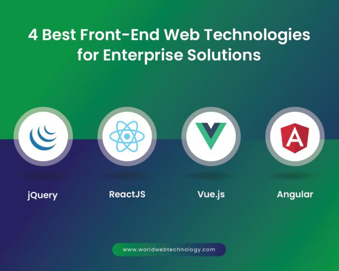 4 Best Front-End Web Technologies for Enterprise Solutions