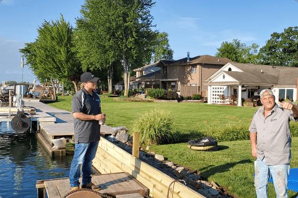 Seawall Repair services in Michigan, Detroit, and Lake Eerie