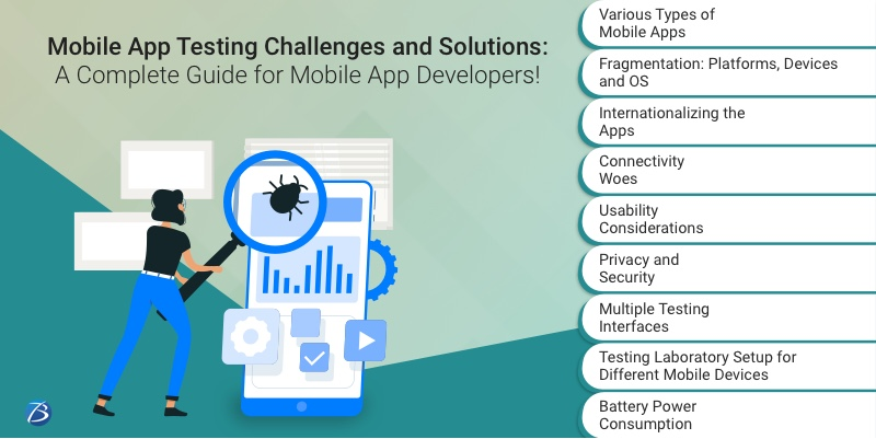 Key Challenges encountered by developers during Mobile app Testing!