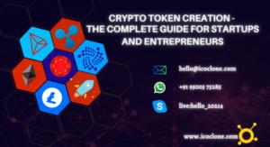 Crypto Token Creation Services | Crypto Token Development  In the digital world, technology play ...