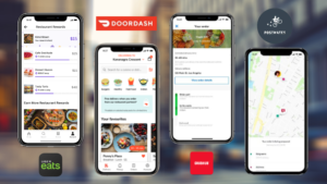 Doordash V/s Grubhub V/s Ubereats V/s Postmates  Want to make a food delivery app? Looking for f ...