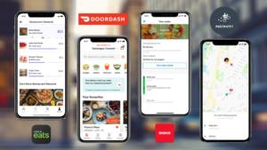 Doordash V/s Grubhub V/s Ubereats V/s Postmates  Want to make a food delivery app? Looking for f ...
