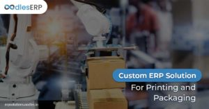 ERP Software Development For Printing and Packaging Services