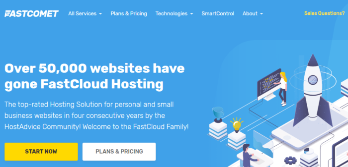 FastComet Review 2021: The Pros & Cons Of FastComet Hosting
