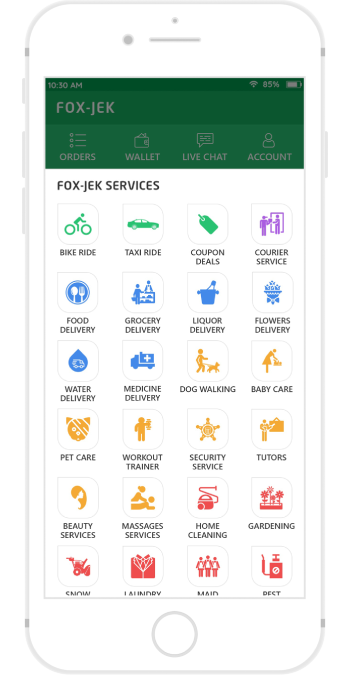 Gojek Clone App Script Solution | All in One Services  Launch your on-demand gojek clone app to  ...