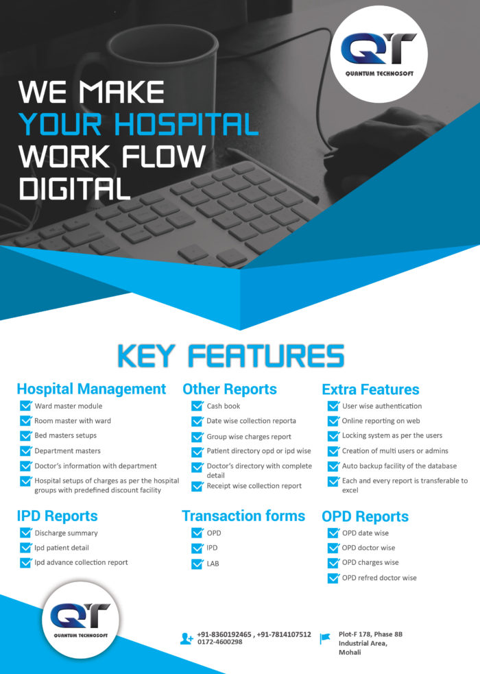 Hospital Managment Software –