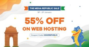 Mega Republic Day Sale On HostGator Web Hosting Services, Here Get Up To 55% Discount on Your Se ...