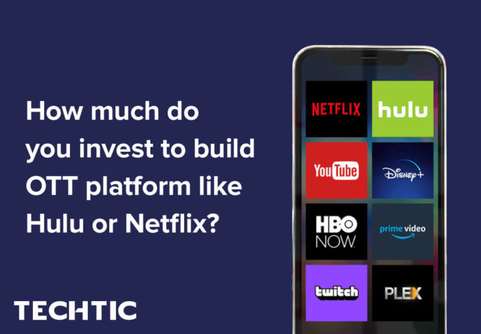 How much do you invest to build OTT platform like Netflix or Hulu?