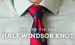 How to tie a tie Knot – Windsor – Oriental – Shelby Knot – TheNewsEngien