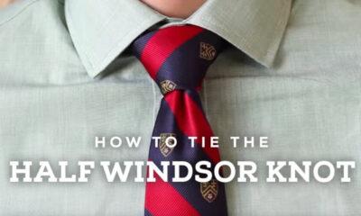 How to tie a tie Knot – Windsor – Oriental – Shelby Knot – TheNewsEngien