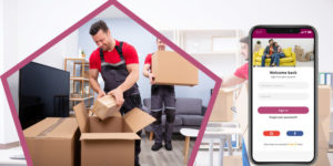 On-demand packers and movers app: For hassle-free delivery of goods and services