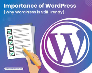 Importance of WordPress (Why WordPress is Still Trendy) [Infographic]