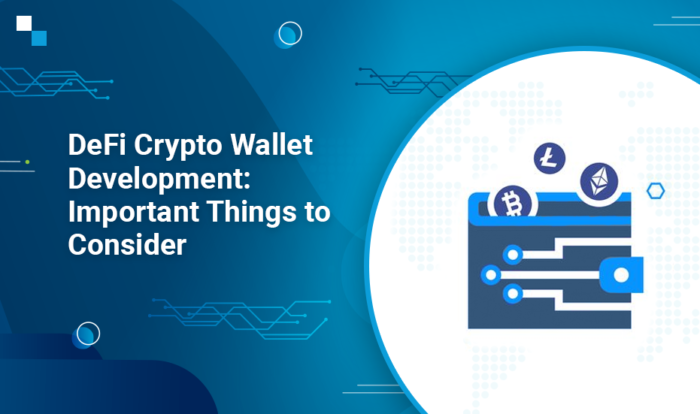 If you are planning to develop your DeFi crypto wallet, you will have to decide upon various thi ...