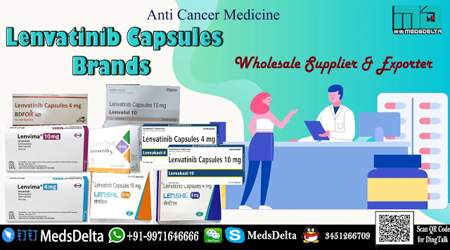 Purchase now Lenvatinib Brands online from MedsDelta provider and exporter, find out about the L ...