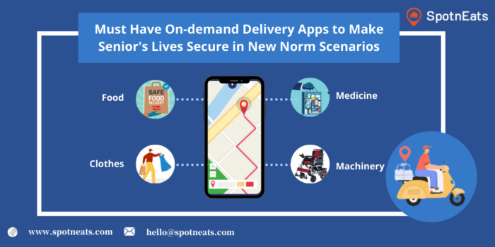 Must-Have On-Demand Delivery Apps to Make Senior's Lives Secure in New Norm Scenarios
