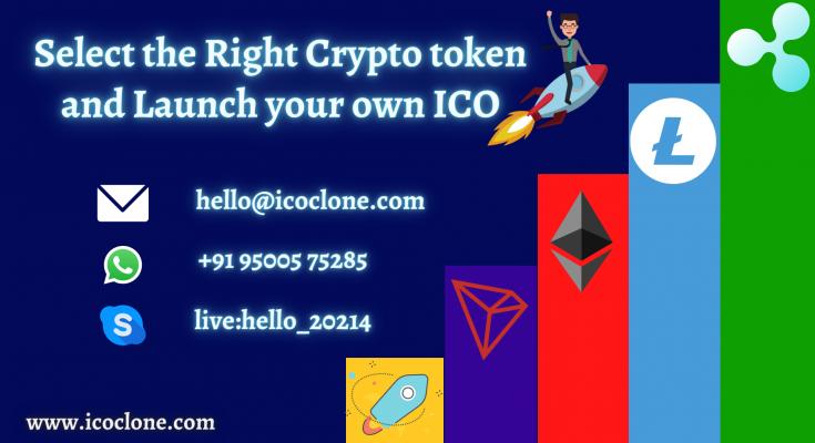 Select the Right Crypto Token | Token Development Services