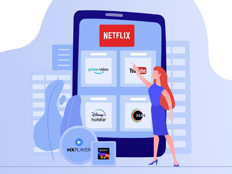 Steps To Be Followed For OTT Platform App Development