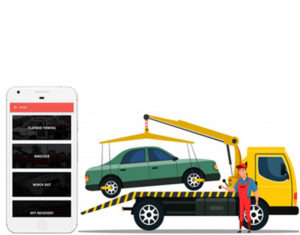 Get your business on wheels with our Uber for towing service app