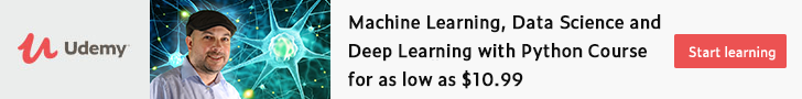 Start Your Learning Udemy Data Science and Machine Learning Courses With Special Offers and Save ...