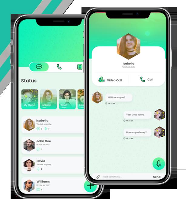 WhatsApp Clone Script, Readymade WhatsApp Clone App