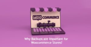 Why Backups are Important for Woocommerce Stores?