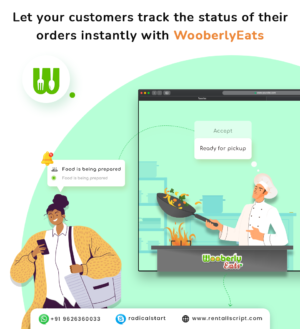 WooberlyEats – On Demand Food Delivery App Solution
