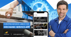 Establish your business with Uber for mechanics app